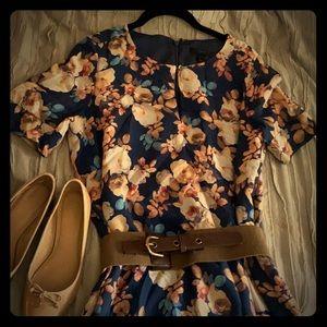 Jcrew dress 100% silk